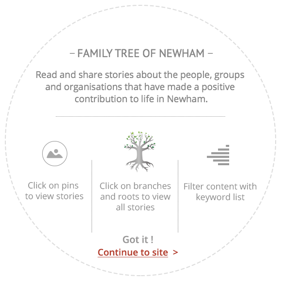 Read and share stories about positive contributions to life in Newham